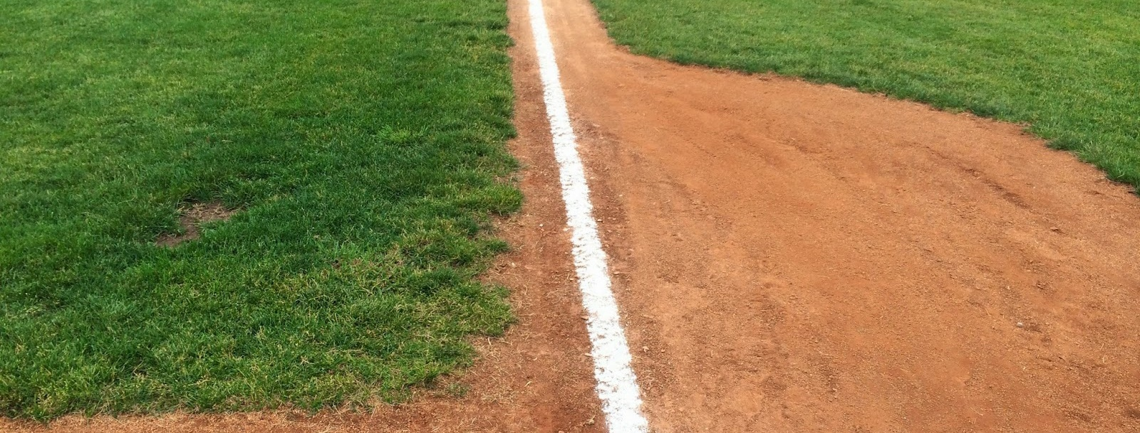 Baseline on Baseball Field