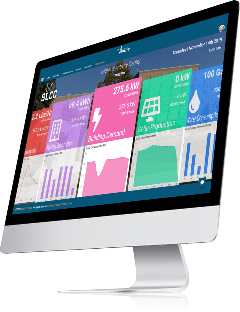 Vitality Platform Energy Management