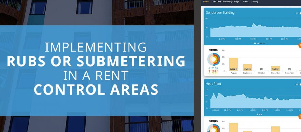 RUBS or Submetering in Rent Control Areas